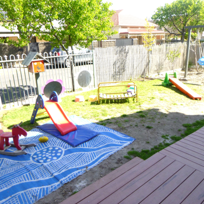 baby room gallery - front yard